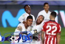 صورة ملخص مباراة أتلتيكو مدريد وريال مدريد