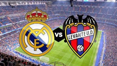 صورة موعد مباراة ريال مدريد ضد ليفانتي في الدوري الإسباني